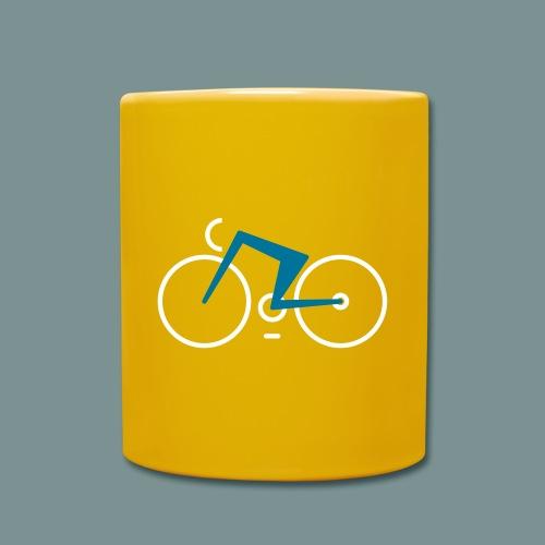 Bikes against cancer - Ensfarvet krus