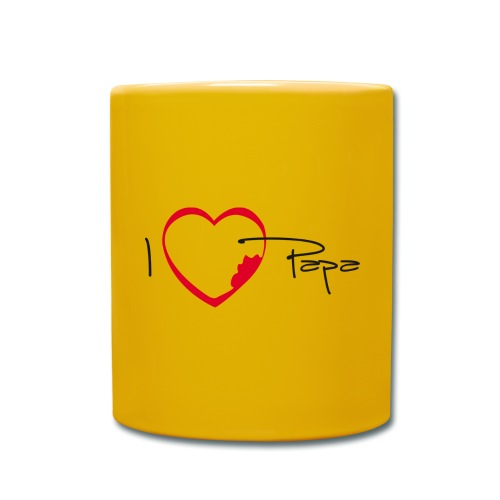 I love papa - Mug uni