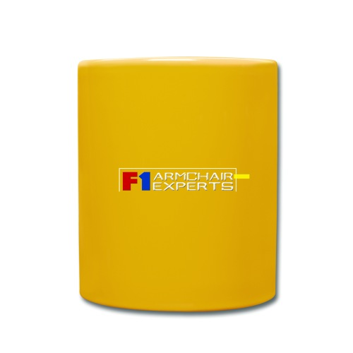 F1 Armchair Expert Official Logo WHT - Full Colour Mug