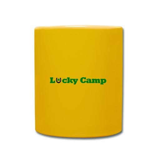 Glücksbringer Camp - Tasse einfarbig