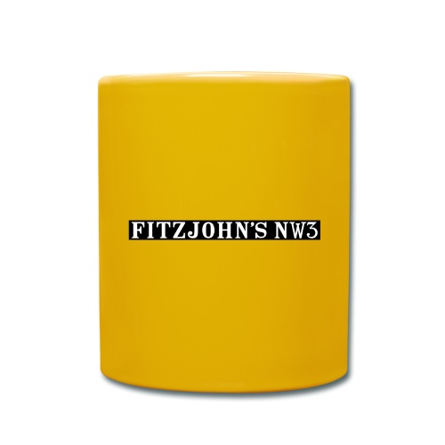 Fitzjohn's NW3 black bar - Full Colour Mug