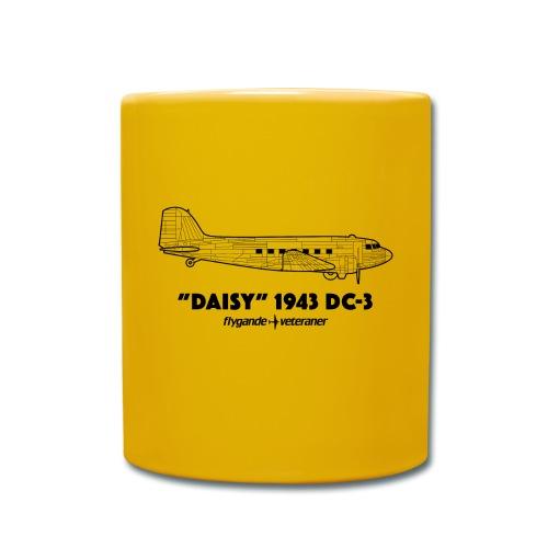 Daisy Blueprint Side 1 - Enfärgad mugg