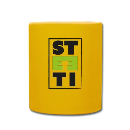 Steeti logo - Enfärgad mugg