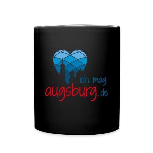 ichmagaugsburg logo - Tasse einfarbig