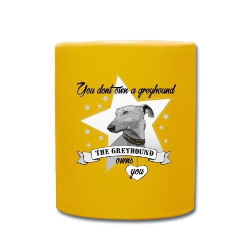 The Greyhound - Enfärgad mugg