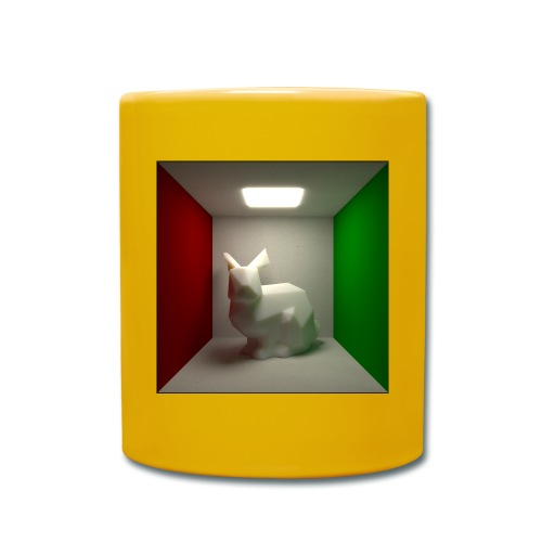 Bunny in a Box - Full Colour Mug
