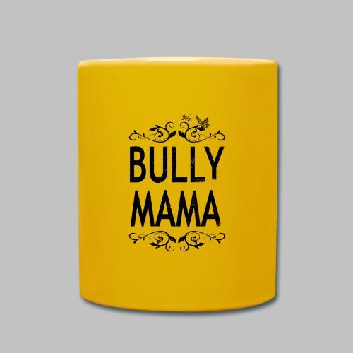 Stolze Bully Mama - Motiv mit Schmetterling - Tasse einfarbig