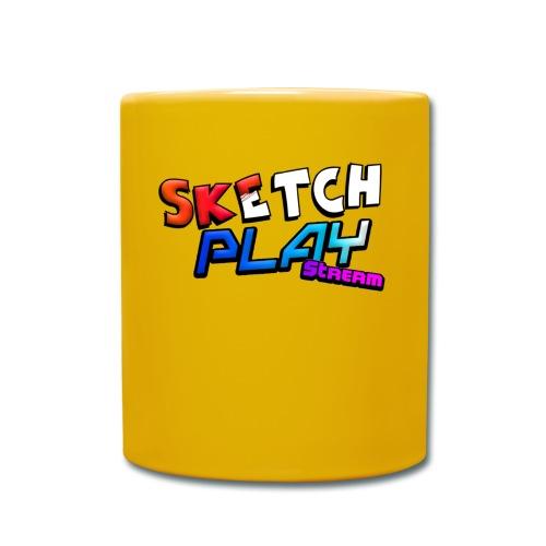 Logo SketchPlayStream - Tazza monocolore