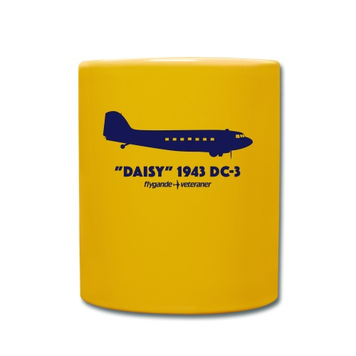 Daisy Silhouette Side 2 - Enfärgad mugg