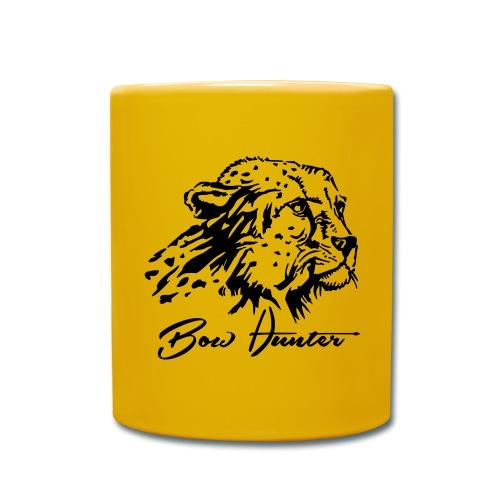 gepard bow hunter - Tasse einfarbig
