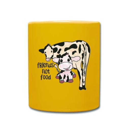Friends not food - Full Colour Mug