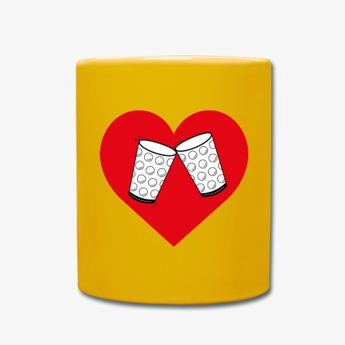 Schorle Liebe – Dubbegläser - Tasse einfarbig