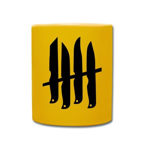 KNIVES OUT RECORDS - Logo BK - Mug uni