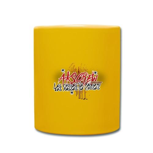 Logo ASKcrew Avec slogan - Mug uni
