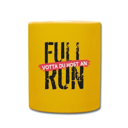 Full Run - Tasse einfarbig