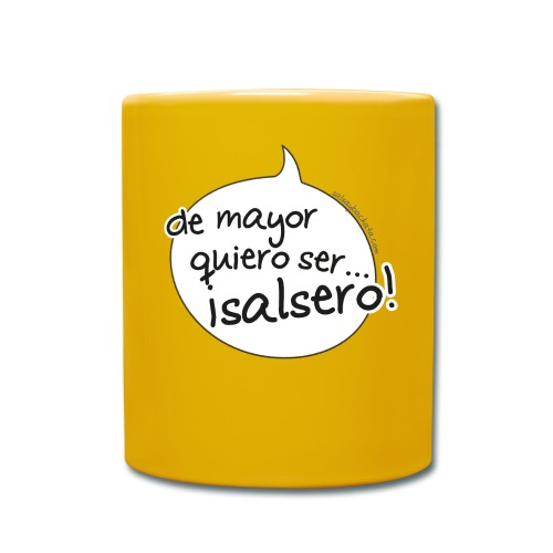 de mayor quiero salsero - Taza de un color
