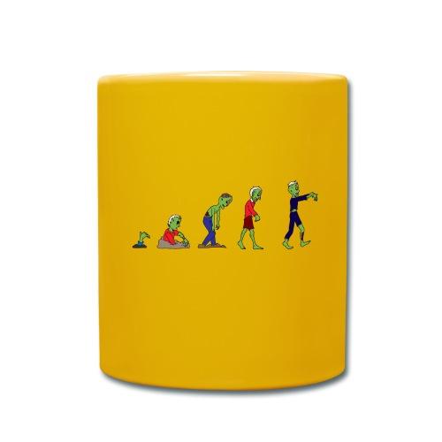 Zombie Evolution - Full Colour Mug