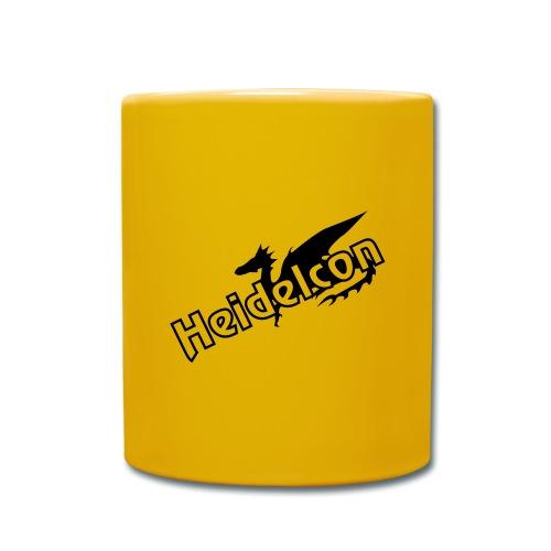 HeidelConLogoV2 - Tasse einfarbig