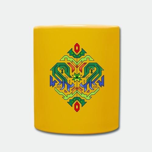 l étoile Mandala - Full Colour Mug