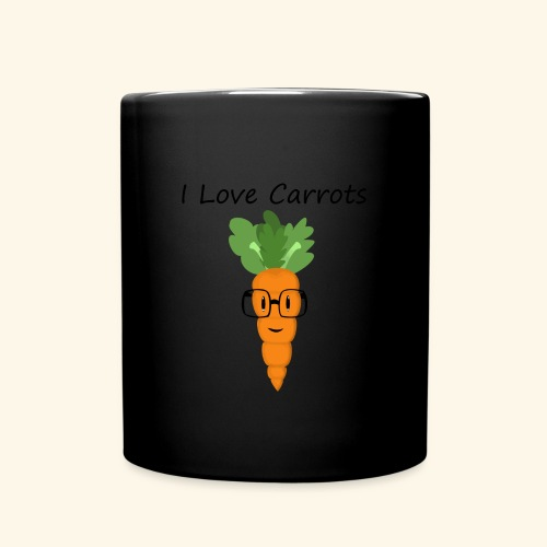 Love Carrots - Taza de un color