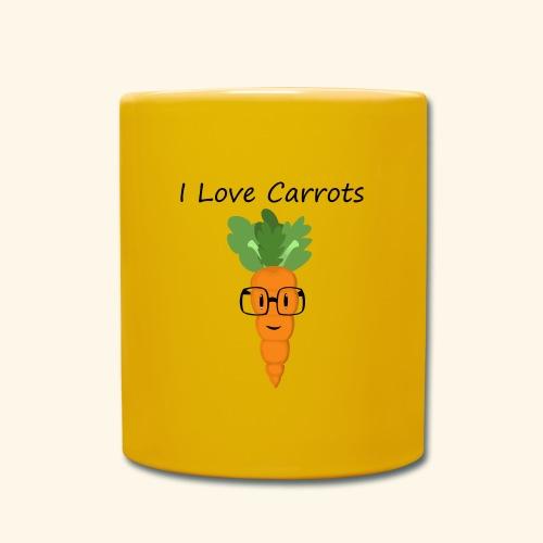 Love Carrots - Taza de un color