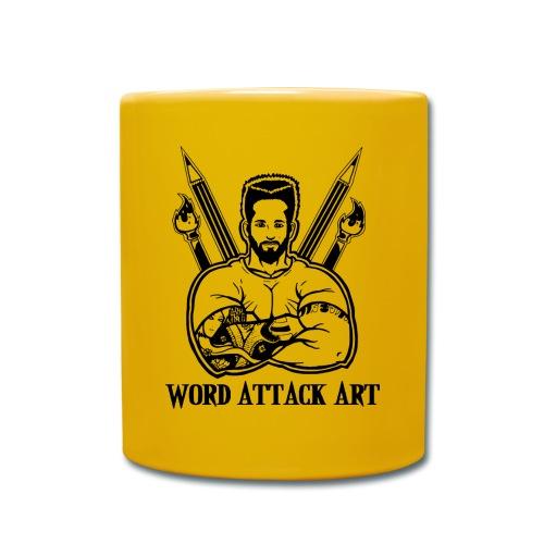 Word Attack Art - Tasse einfarbig