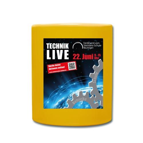 TECHNIK LIVE 2018 - Tasse einfarbig