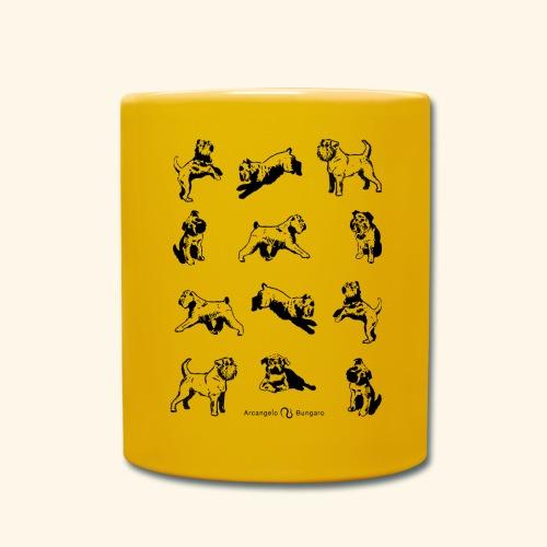 Brussels Griffon pattern - Mug uni