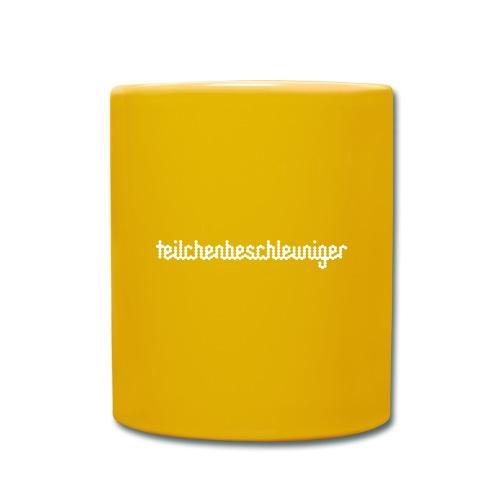 teilchenbeschleuniger - Tasse einfarbig
