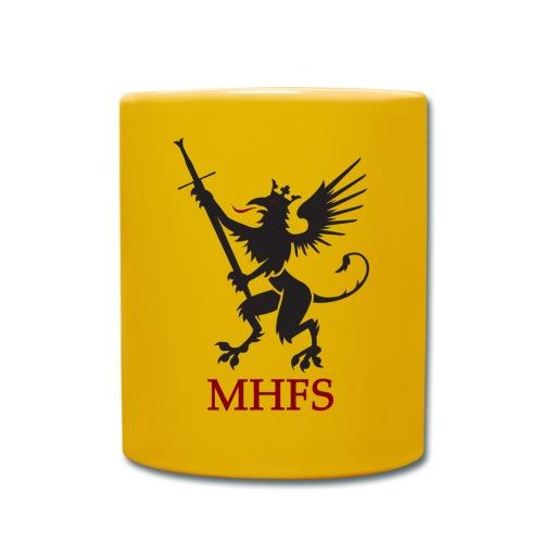 MHFS Logga Pixel png - Enfärgad mugg
