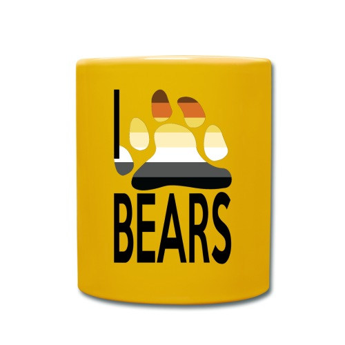 I love bears - Mug uni
