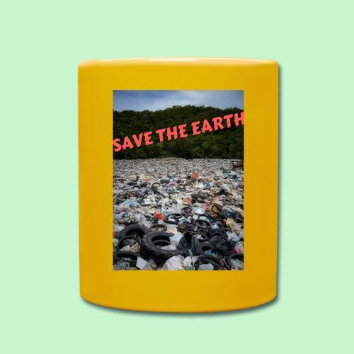 save the earth - Mug uni