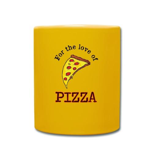 For the Love of Pizza - Yksivärinen muki