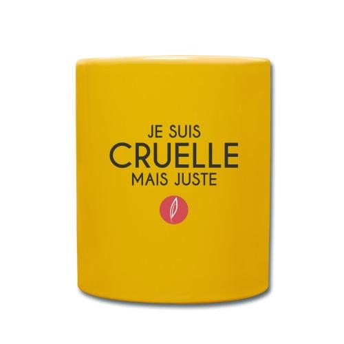 Citation - Cruelle mais juste - Mug uni
