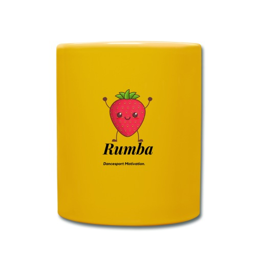 Strawberry Rumba - Taza de un color