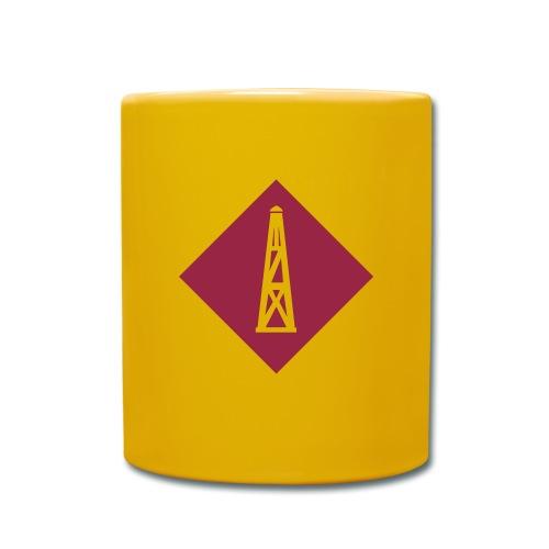 turm - Tasse einfarbig