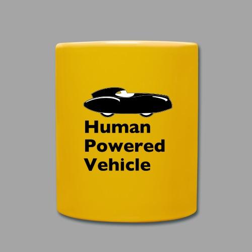 Quattrovelo Human Powered Vehicle black - Yksivärinen muki