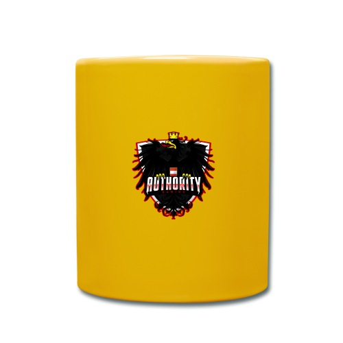 AUThority Gaming red - Tasse einfarbig