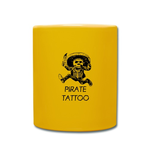 Pirat Tattoo - Tasse einfarbig