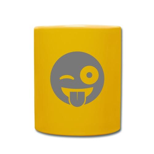 Emoji - Tasse einfarbig