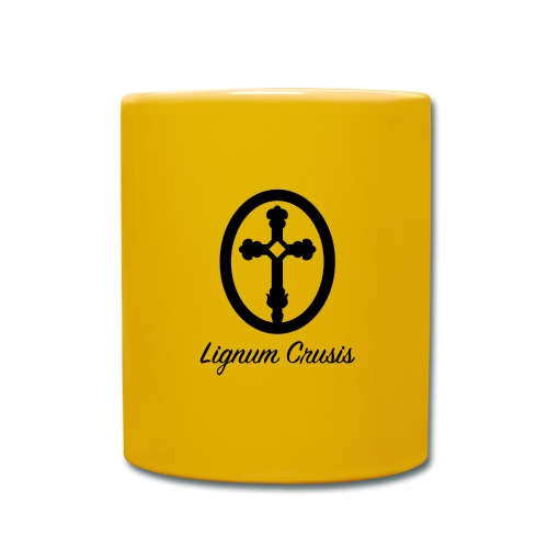 Lignum Crusis - Taza de un color