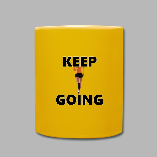 Keep going - Tasse einfarbig