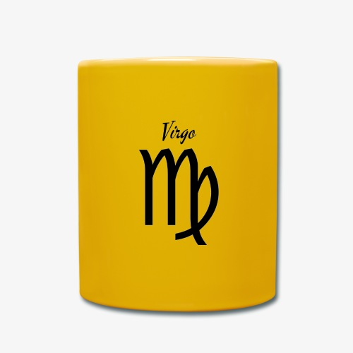 Virgo Sternzeichen T-Shirt - Tasse einfarbig