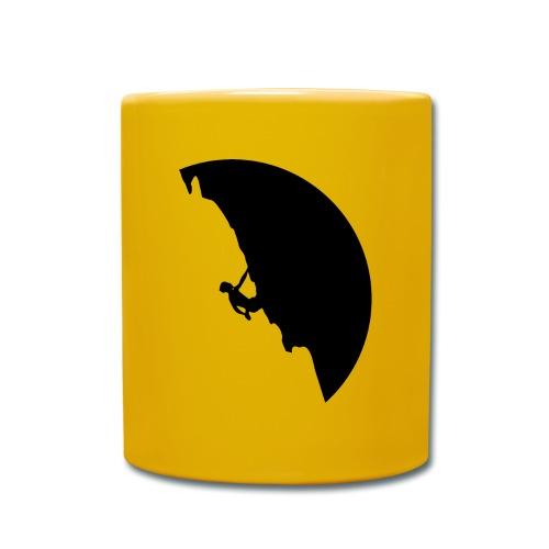 Kletterer in schwarz - Tasse einfarbig