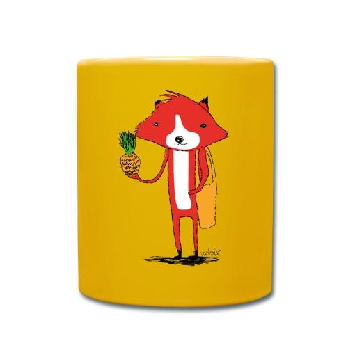 Ananasfüchslein - Tasse einfarbig