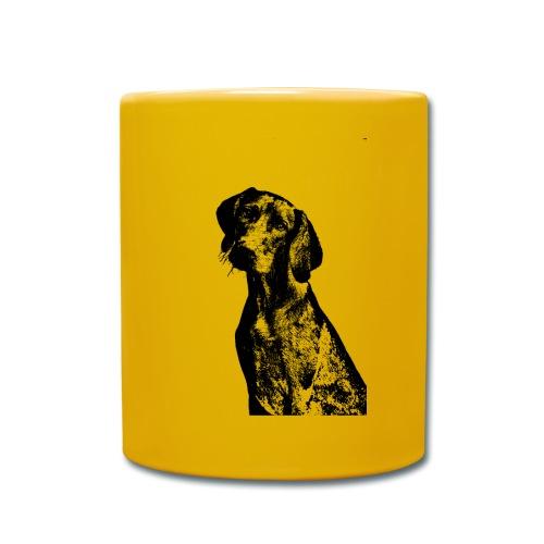 portrait of dog - Tazza monocolore