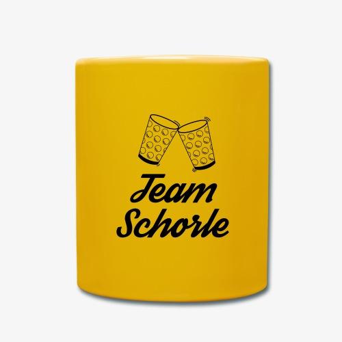 Team Schorle - Tasse einfarbig