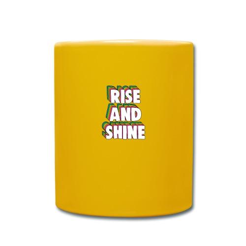Rise and Shine Meme - Full Colour Mug