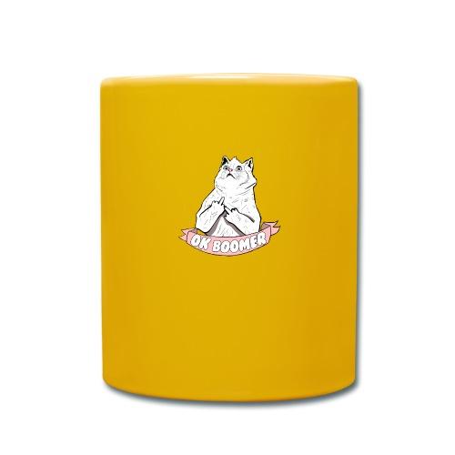 OK Boomer Cat Meme - Full Colour Mug