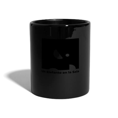 Logo Elefante Negro - Taza de un color